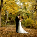 Un joli mariage en automne