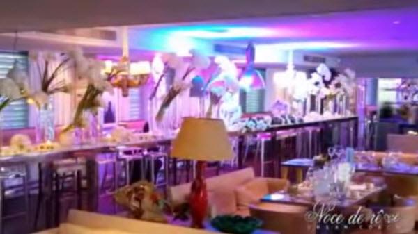 Mariage dans un restaurant en bord de mer à Monaco