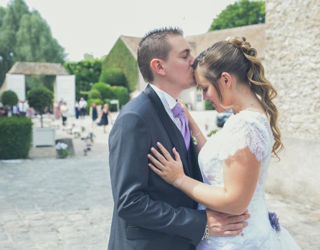 Nos mariée Elise et Julien