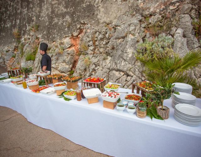 buffet exotique