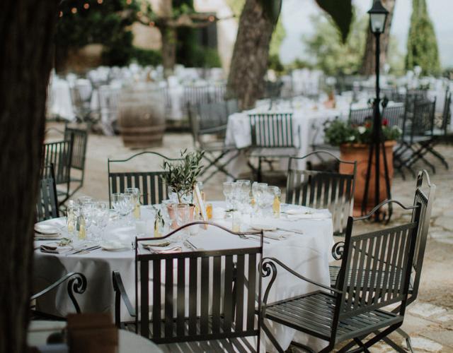 table pour le dîner Noce de Rêve by Flovinno