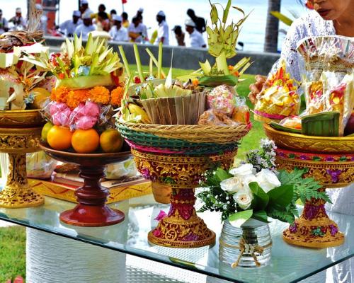 buffet de mariage à Bali Noce de rêve by Flovinno