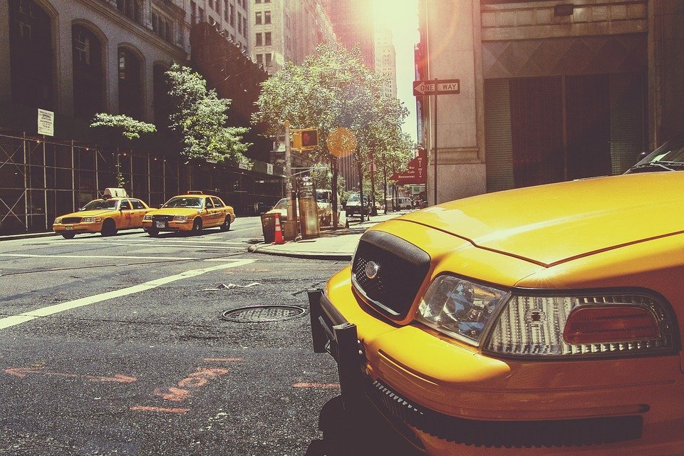 taxi in New-York