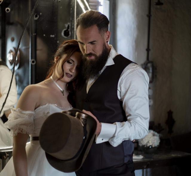 Mariage thème Steampunk Noce de Rêve by Flovinno