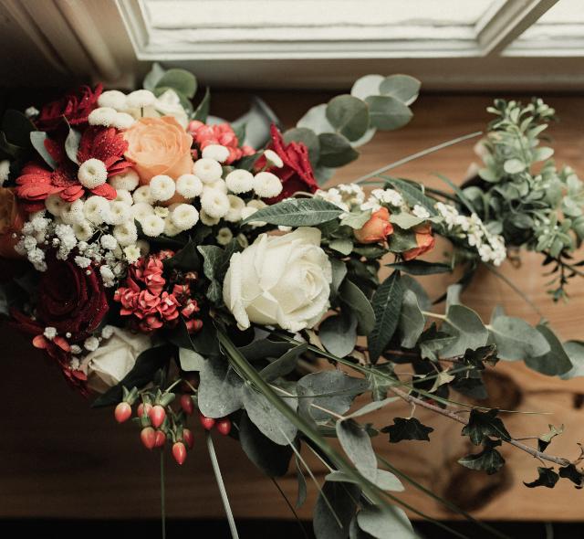 bouquet style automne