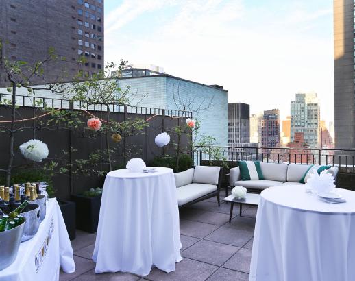 Terrasse vu sur New York Noce de rêve by Flovinno