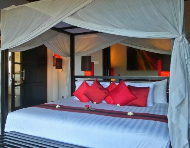 Chambre d'hôtel à Bali Noce de rêve by Flovinno