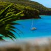 Bateau sur la mer aux Antilles Noce de Rêve by Flovinno