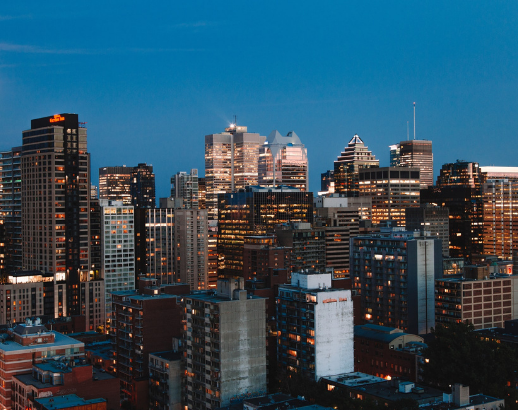 Buildings de Montréal Noce de rêve by Flovinno