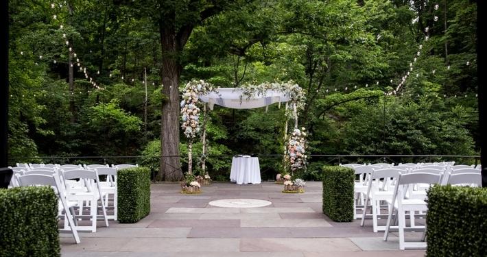 Cérémonie de mariage au coeur d'un parc à New York Noce de Rêve by Flovinno