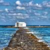 Petite chapelle au milieu de l'eau Noce de Rêve by Flovinno