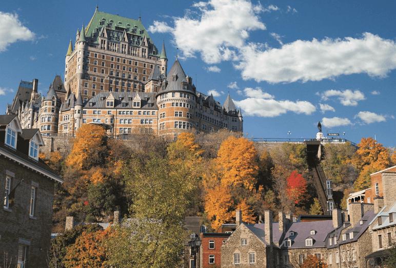 Chateau de Frontenac à Quebec Noce de rêve by Flovinno