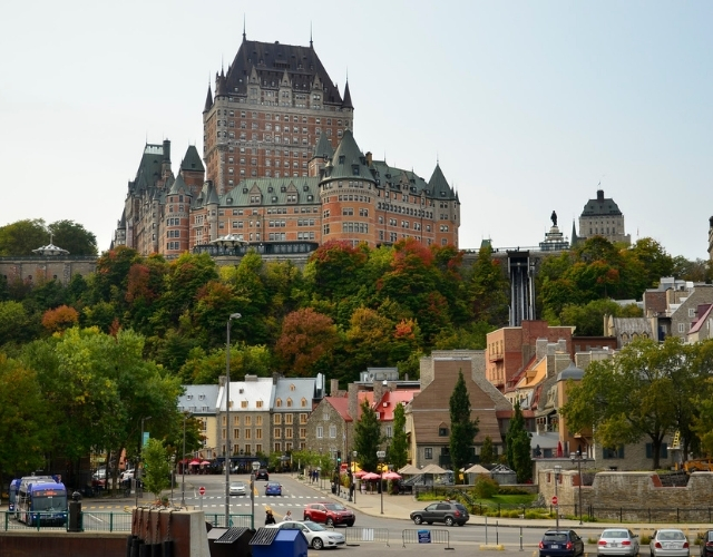 Chateau de Frontenac à Québec Noce de Rêve by Flovinno