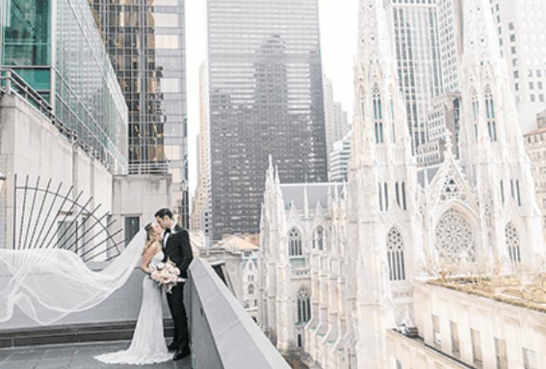 Couple de mariée à NewYork Noce de rêve by Flovinno