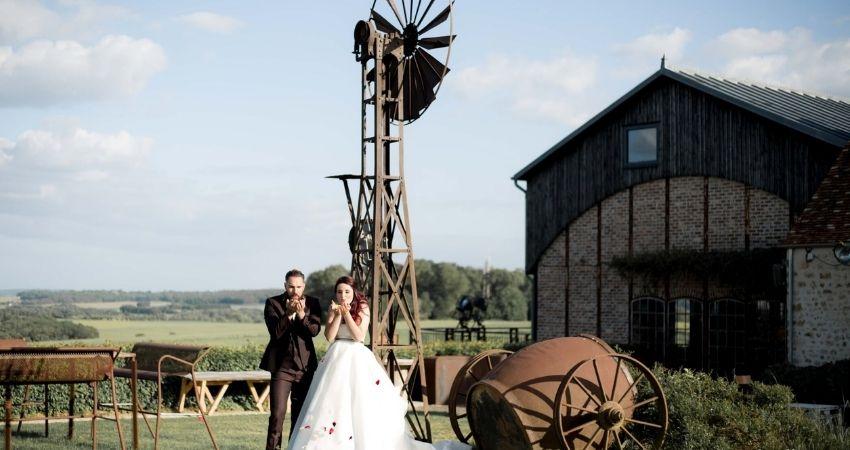 Inspiration lieu de réception pour le thème steampunk Noce de rêve by Flovinno