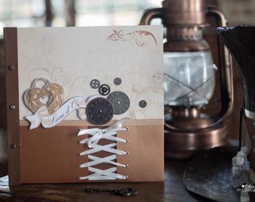 Livre d'or sur le thème steampunk Noce de Rêve by Flovinno