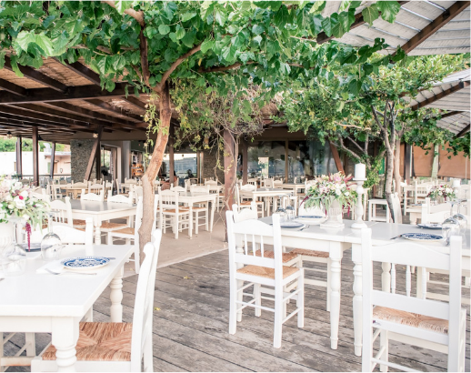 Salle de réception en Crète Noce de rêve by Flovinno