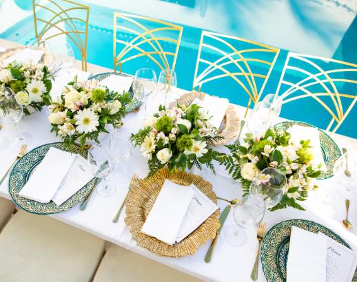 Table de mariage Punta Cana Noce de rêve by Flovinno