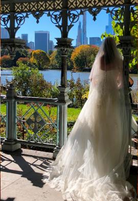 Mariée au plein coeur de Central Park Noce de Rêve by Flovinno