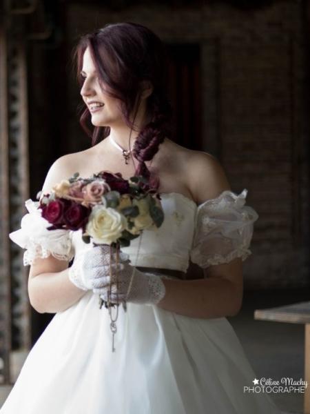 Inspiration tenue de mariée pour le thème steampunk Noce de rêve by Flovinno