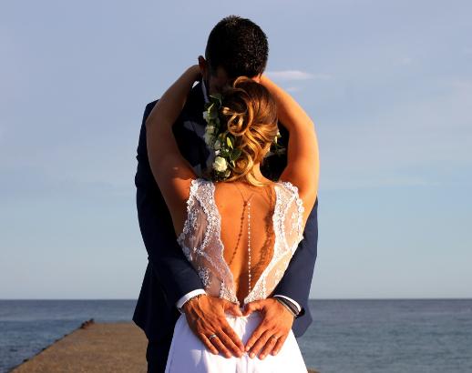 Photo de mariage de Joy et John mer Noce de rêve by Flovinno