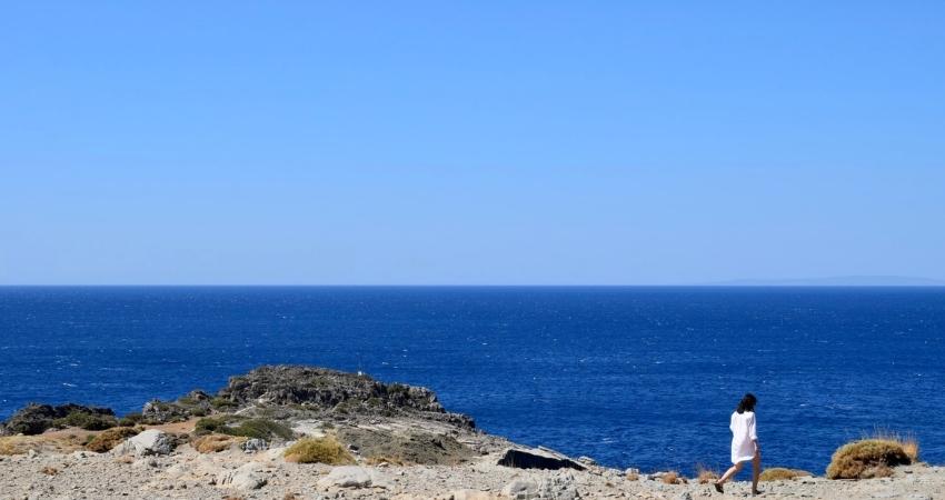 Vue sur la mer en Crète Noce de Rêve by Flovinno