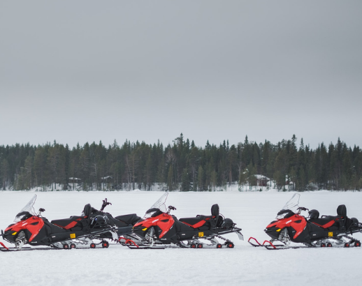 Moto neige au Canada Noce de Rêve by Flovinno