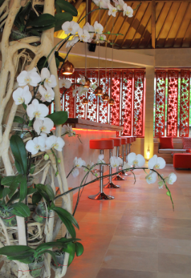 Orchidée dans un hôtel à Bali Noce de rêve by Flovinno