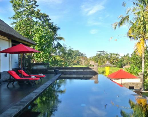 Piscine d'un hôtel à Bali Noce de rêve by Flovinno