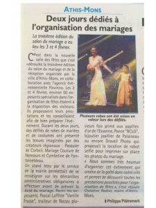 Article sur le salon du mariage de 2018 Noce de Rêve by Flovinno