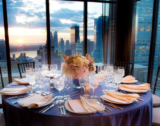 Table de mariage New York Noce de rêve by Flovinno