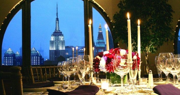 Table de réception à New-York Noce de Rêve by Flovinno
