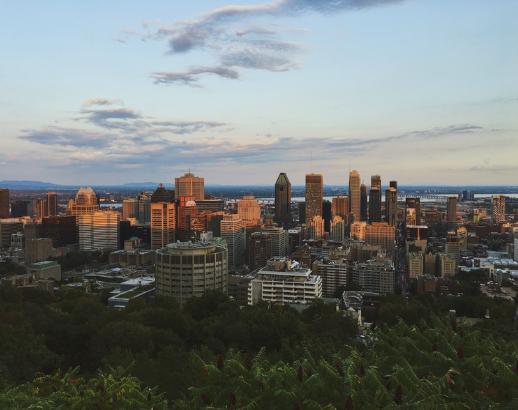 Vue sur Montréal Noce de rêve by Flovinno