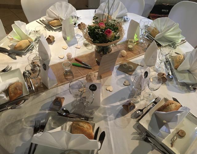 Table du mariage de Céline et Vivien Noce de rêve by Flovinno