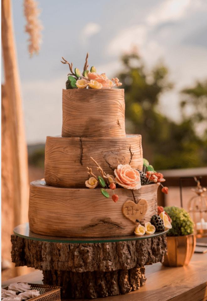 Wedding cake façon arbre Noce de Rêve by FLOVINNO