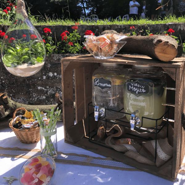 Les bars à limonade Noce de Rêve by FLOVINNO