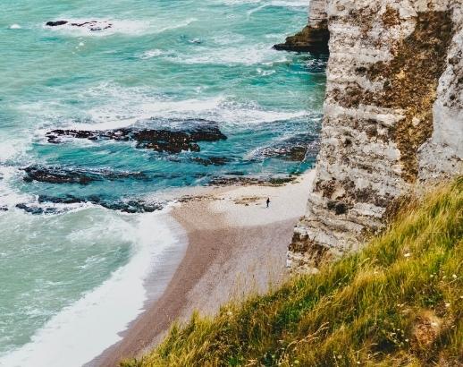 Normandie falaises d'Etretat Noce de Rêve by FLOVINNO