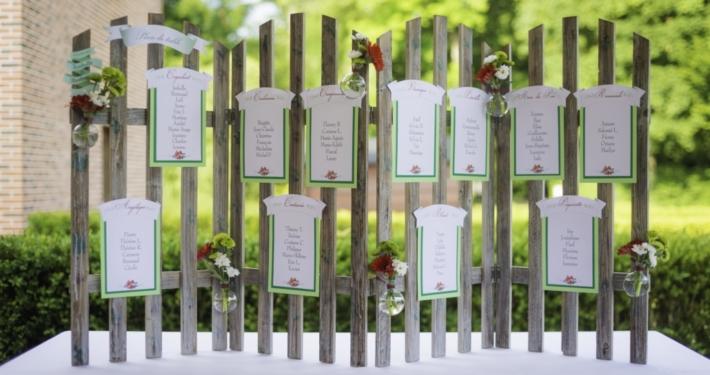 Plan de table paravent Noce de Rêve by FLOVINNO
