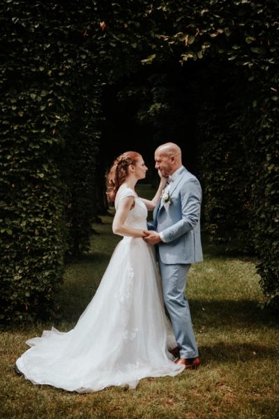 Couple chic et romantique Noce de Rêve by FLOVINNO