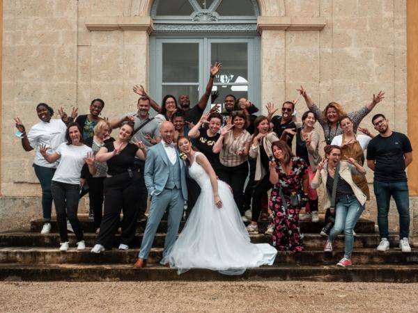 Photo de groupe folle Noce de Rêve by FLOVINNO