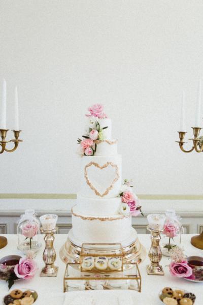 Sweet table chic et romantique Noce de rêve by FLOVINNO