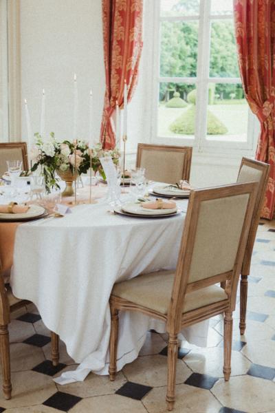Table chic et romantique Noce de Rêve by FLOVINNO